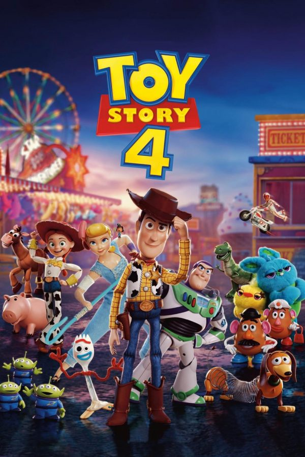 The poster for the movie Toy Story 4
