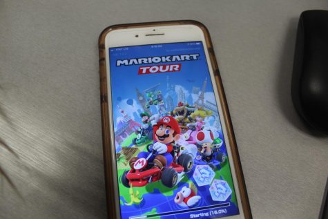 Mobile Version of Mario Cart