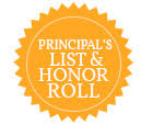 First 9 weeks Honor Roll