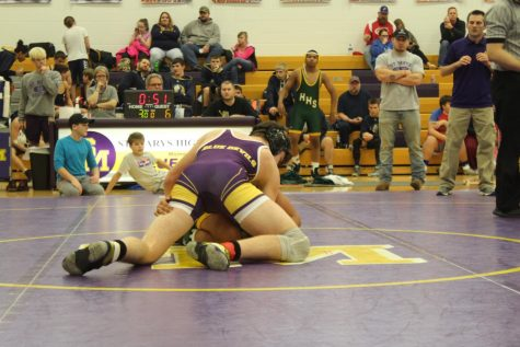 St. Marys Cracks Top 5 In LKC Wrestling Tourney