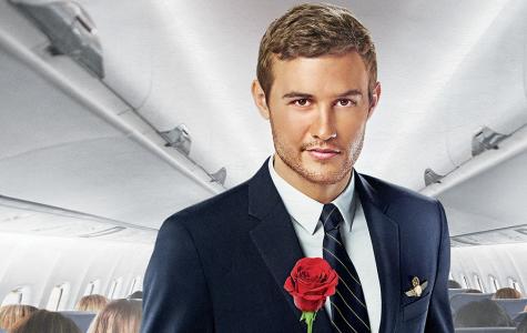 Peter Weber, Season 24 Bachelor, holds a rose.