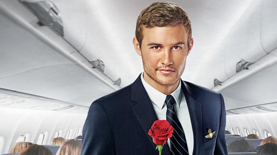 Peter+Weber%2C+Season+24+Bachelor%2C+holds+a+rose.