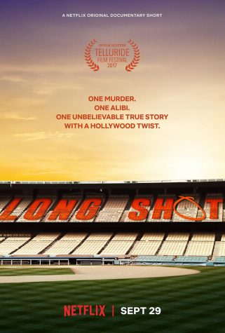 "The poster from the Netflix original documentary ""Long Shot."""