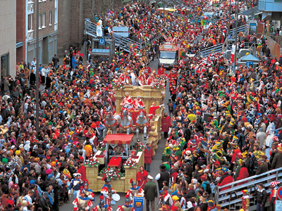 Carnival parade in Koblenz, Germany