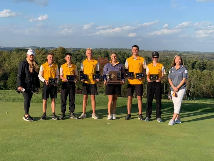 Back to Back Golf State Champs