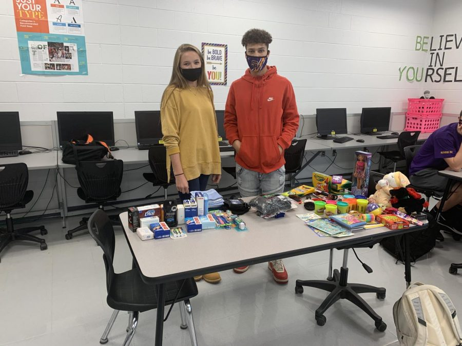 Student Council Sends Christmas Cheer