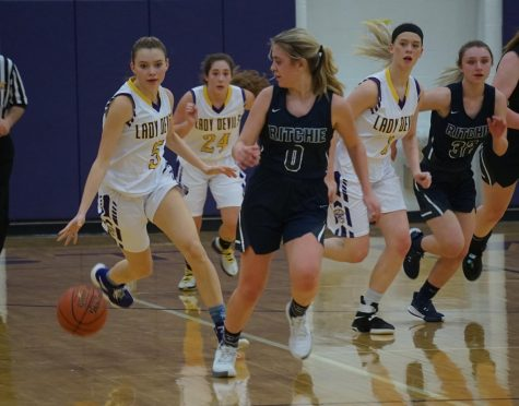 Parkersburg Catholic Holds Off Lady Devils